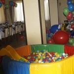аренда сухого бассейна с шариками